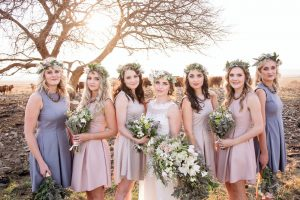 Pastel Bridesmaids | Image: JCclick