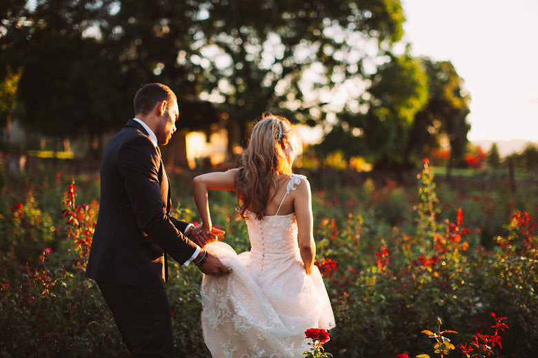 Rose Farm Wedding | Image: Moira West