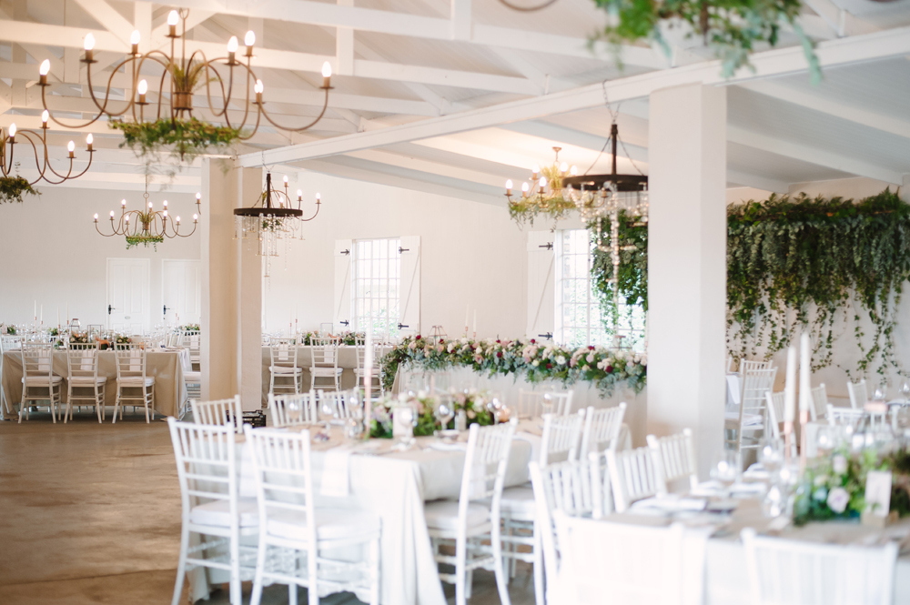 Romantic Rose Gold Reception | Image: Tanya Jacobs