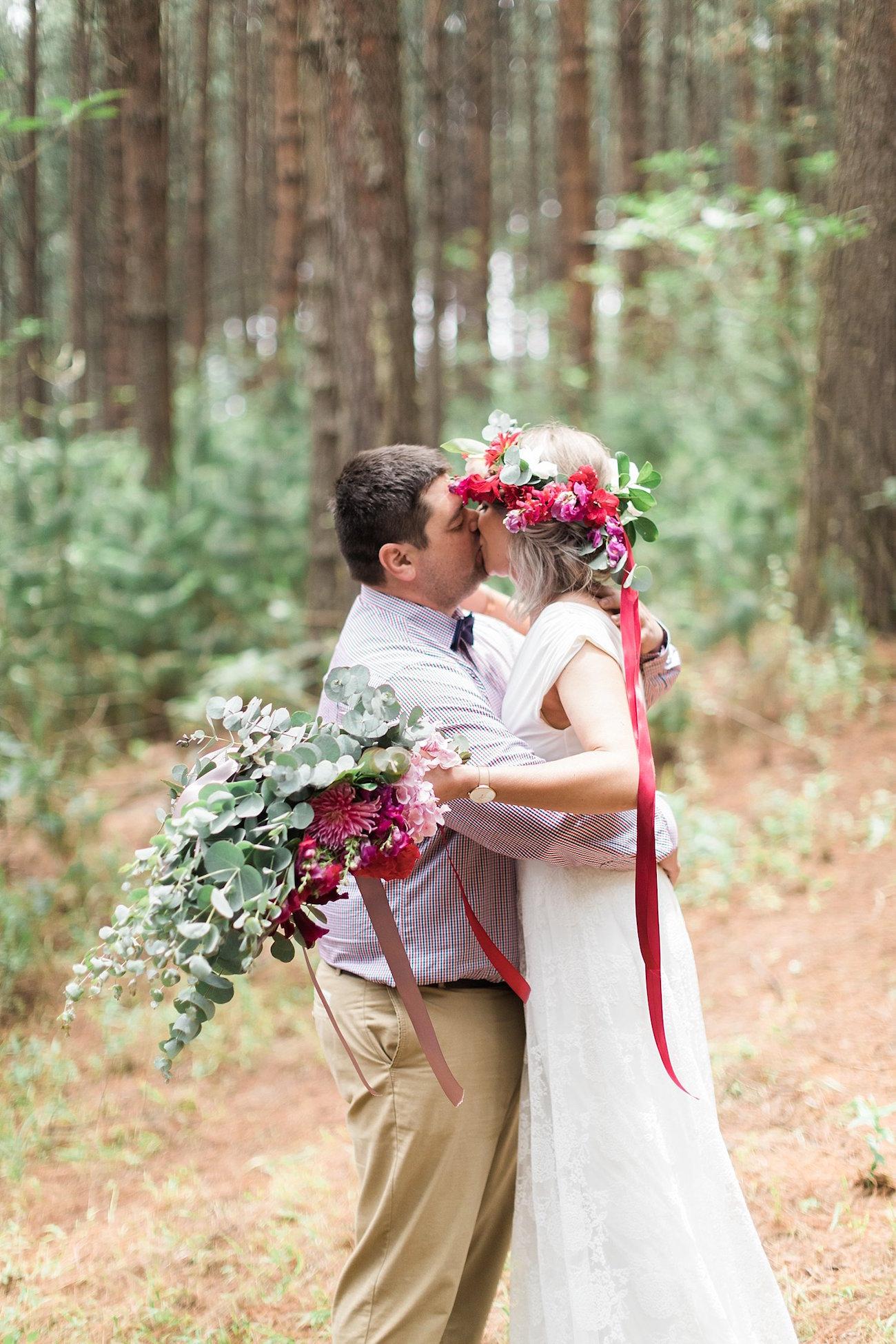Forest Wedding Ceremony | Image: Alicia Landman