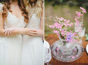 Secret Garden Wedding Inspiration   Credit: Oh Happy Day & Roxanne Davison