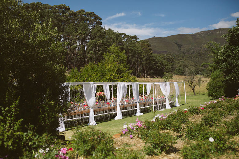 Cape Winelands Outdoor Wedding | Image: Moira West