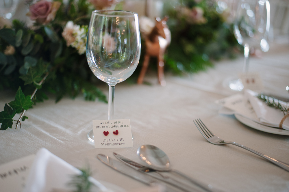 Romantic Rose Gold Table Decor | Image: Tanya Jacobs