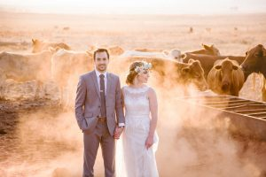 Bride and Groom with Cattle | Image: JCclick