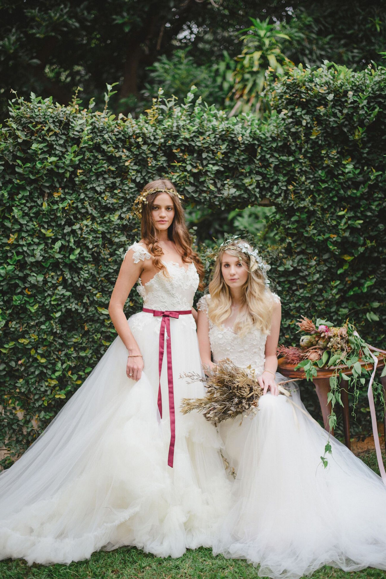 McCarthy Wolff Wedding Dresses | Credit: Oh Happy Day & Roxanne Davison