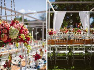 Vibrant Outdoor Wedding | Image: Moira West