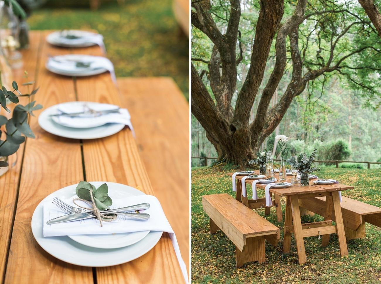 Informal Forest Feast Wedding | Image: Alicia Landman