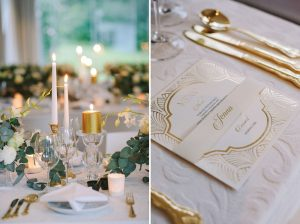 Vintage Glamour Winter Wedding | Credit: Jani B & Bright and Beautiful