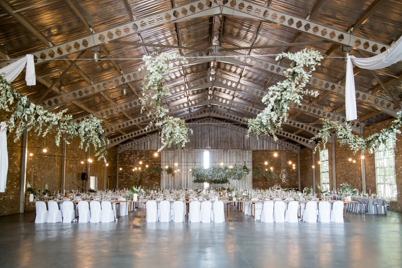 Copper, Pastel & Greenery Wedding Reception | Image: JCclick
