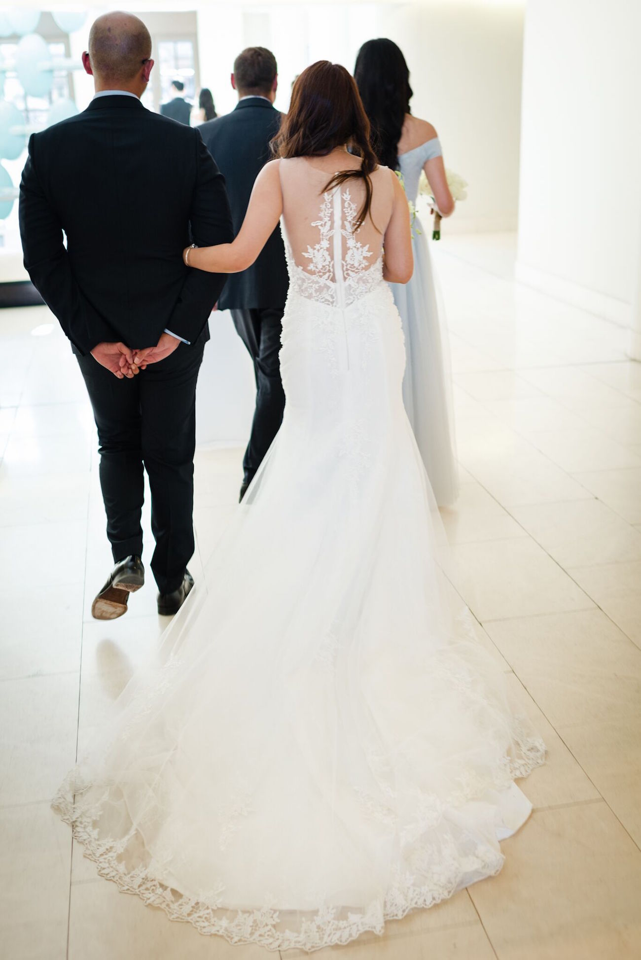 Elie Saab Wedding Dress Back Detail | Image: Wynand van der Merwe