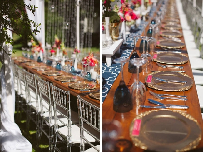 Vibrant Outdoor Wedding | Image: Moira West
