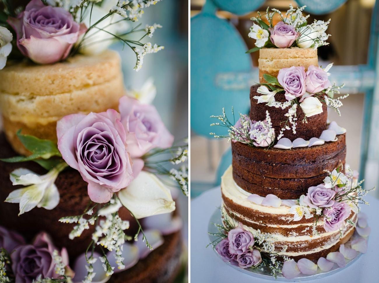 Naked Cake Detail | Image: Wynand van der Merwe
