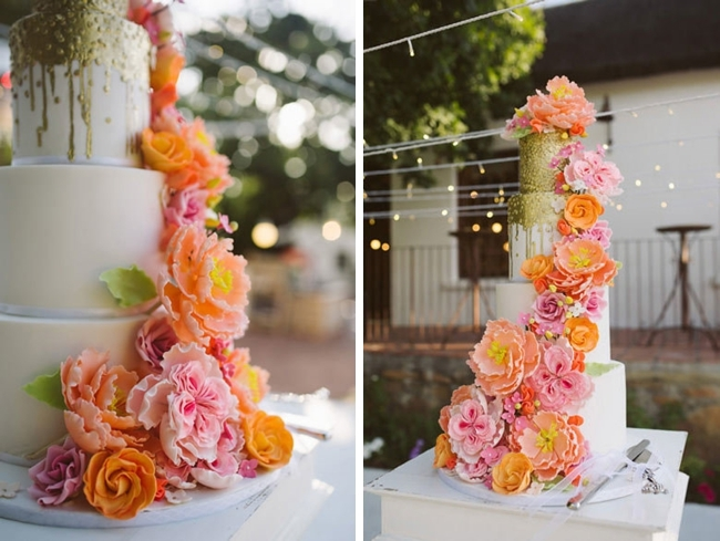 Orange and Pink Cake | Image: Moira West