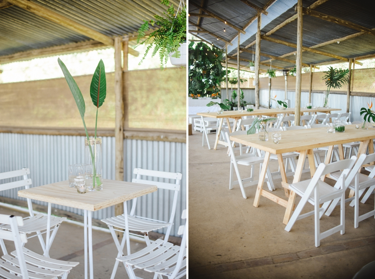 Durban North Coast Tropical Chic Wedding Decor | Credit: Oh Happy Day & Dane Peterson
