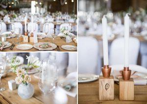 Copper, Pastel & Greenery Wedding | Image: JCclick