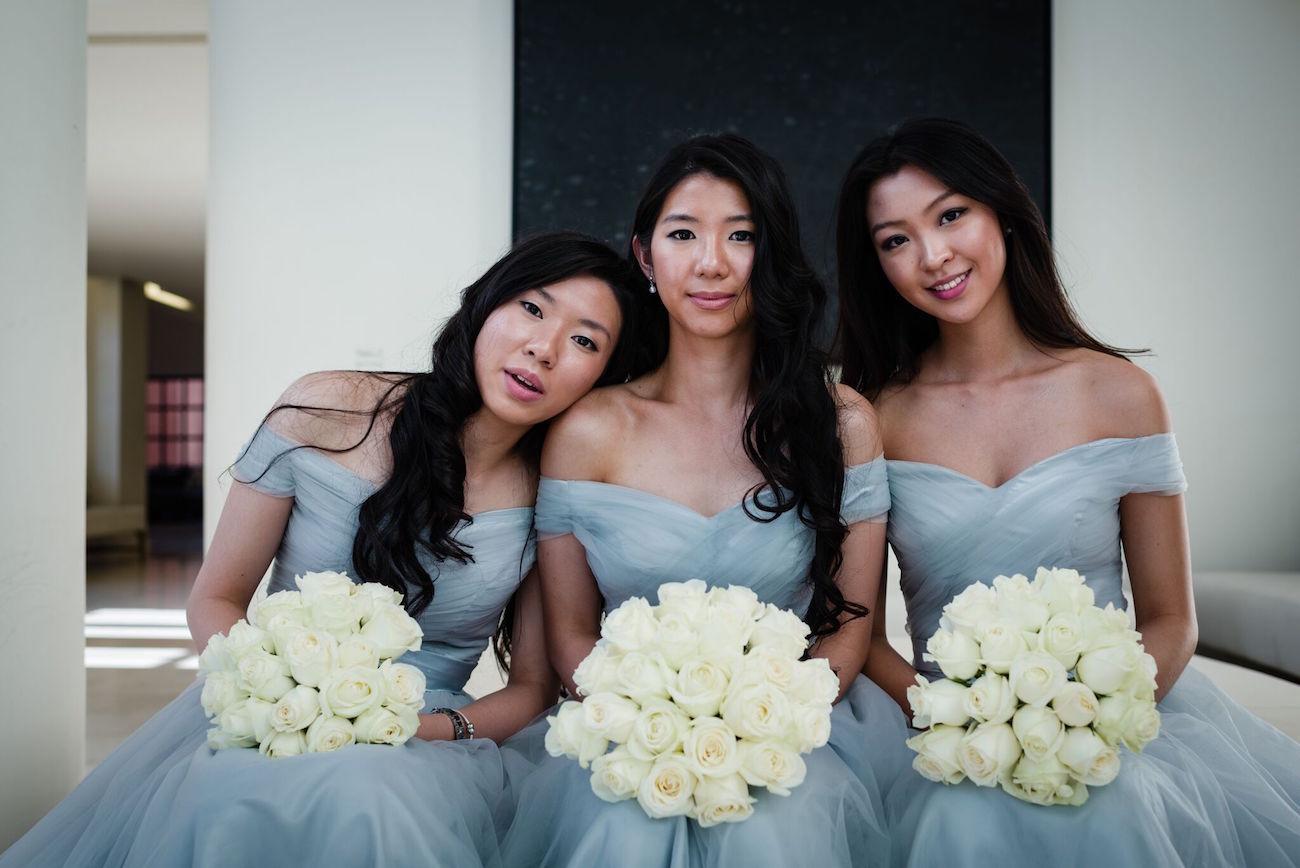 Silver Grey Bridesmaid Dresses | Image: Wynand van der Merwe