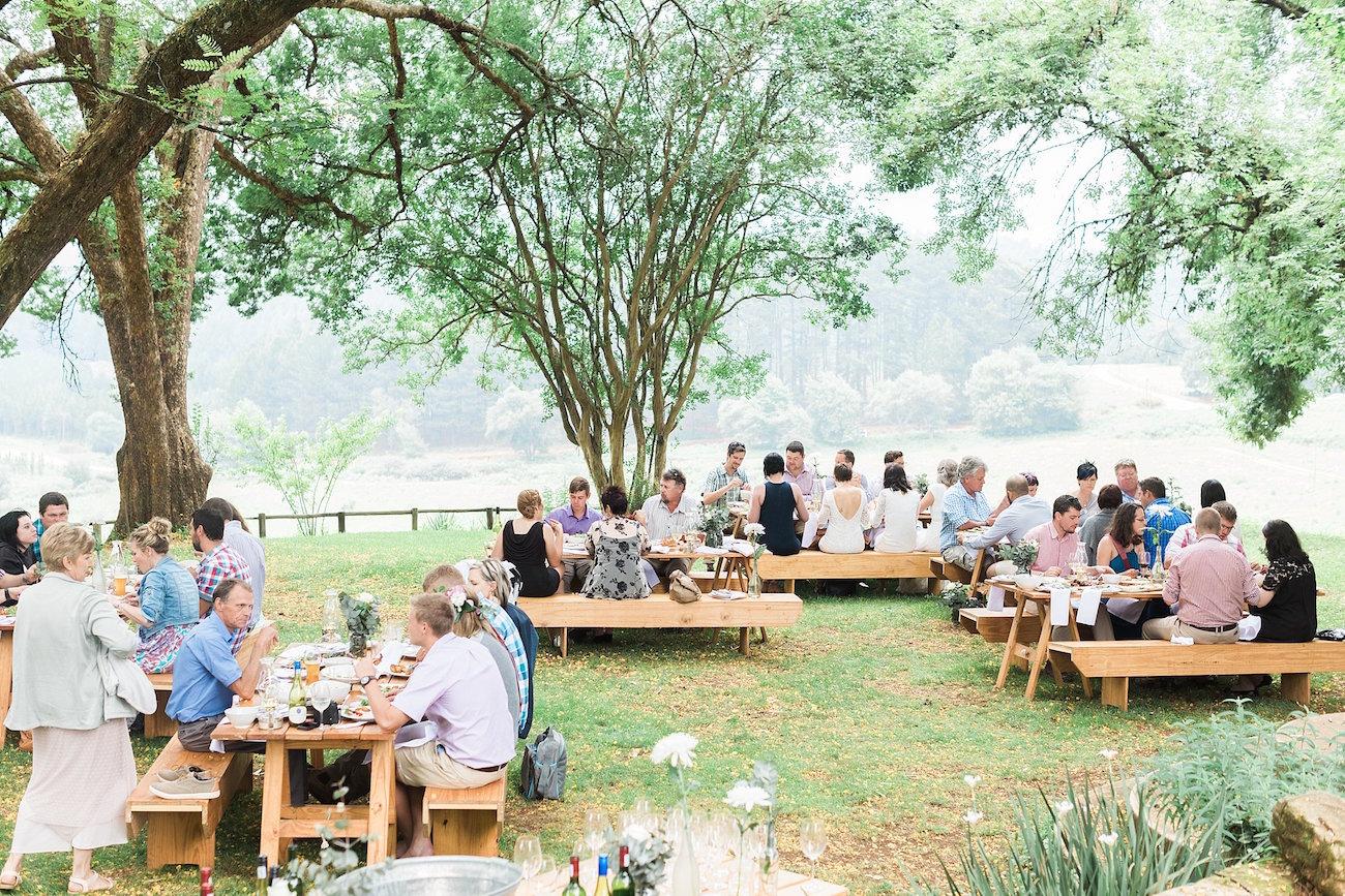 Informal Forest Feast Wedding at Mina's Cafe | Image: Alicia Landman