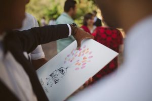 Thumbprint Guestbook | Image: Moira West