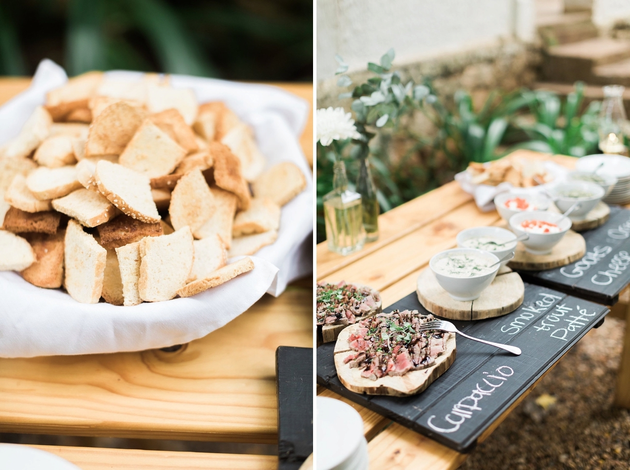 Wedding Food Tapas Style   Image: Alicia Landman