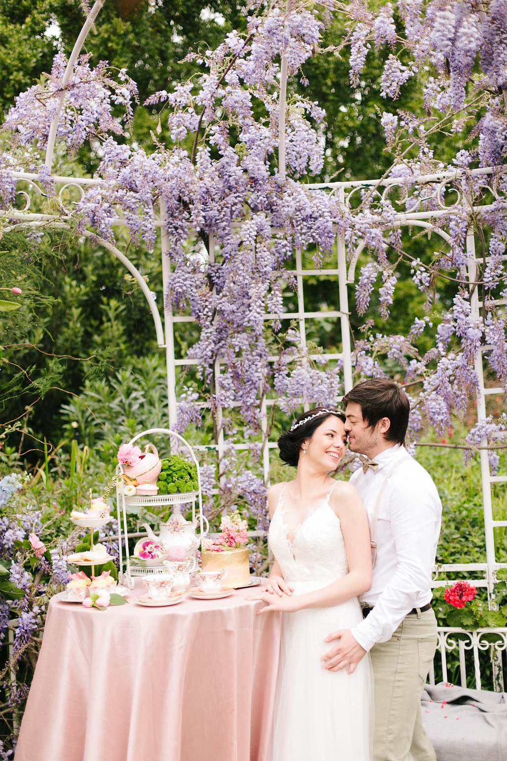 Garden Tea Party Wedding | Image: Nelani Van Zyl