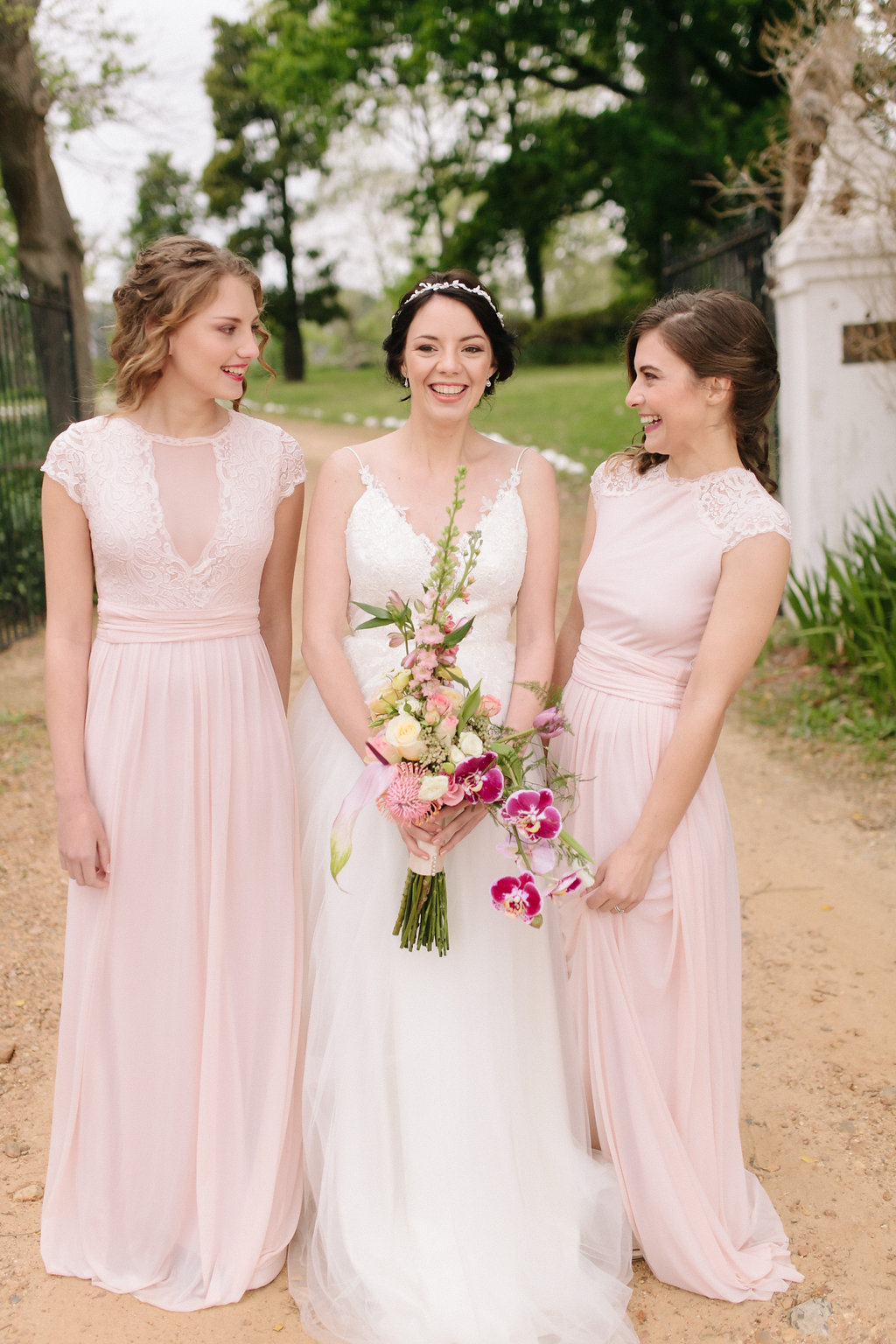 Blush Bridesmaid Dresses by Jacoba Clothing | Image: Nelani Van Zyl