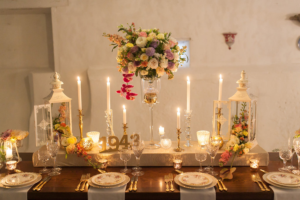 Spring Garden Wedding Table Decor | Image: Nelani Van Zyl