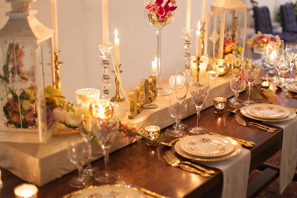 Spring Garden Wedding Table Decor   Image: Nelani Van Zyl