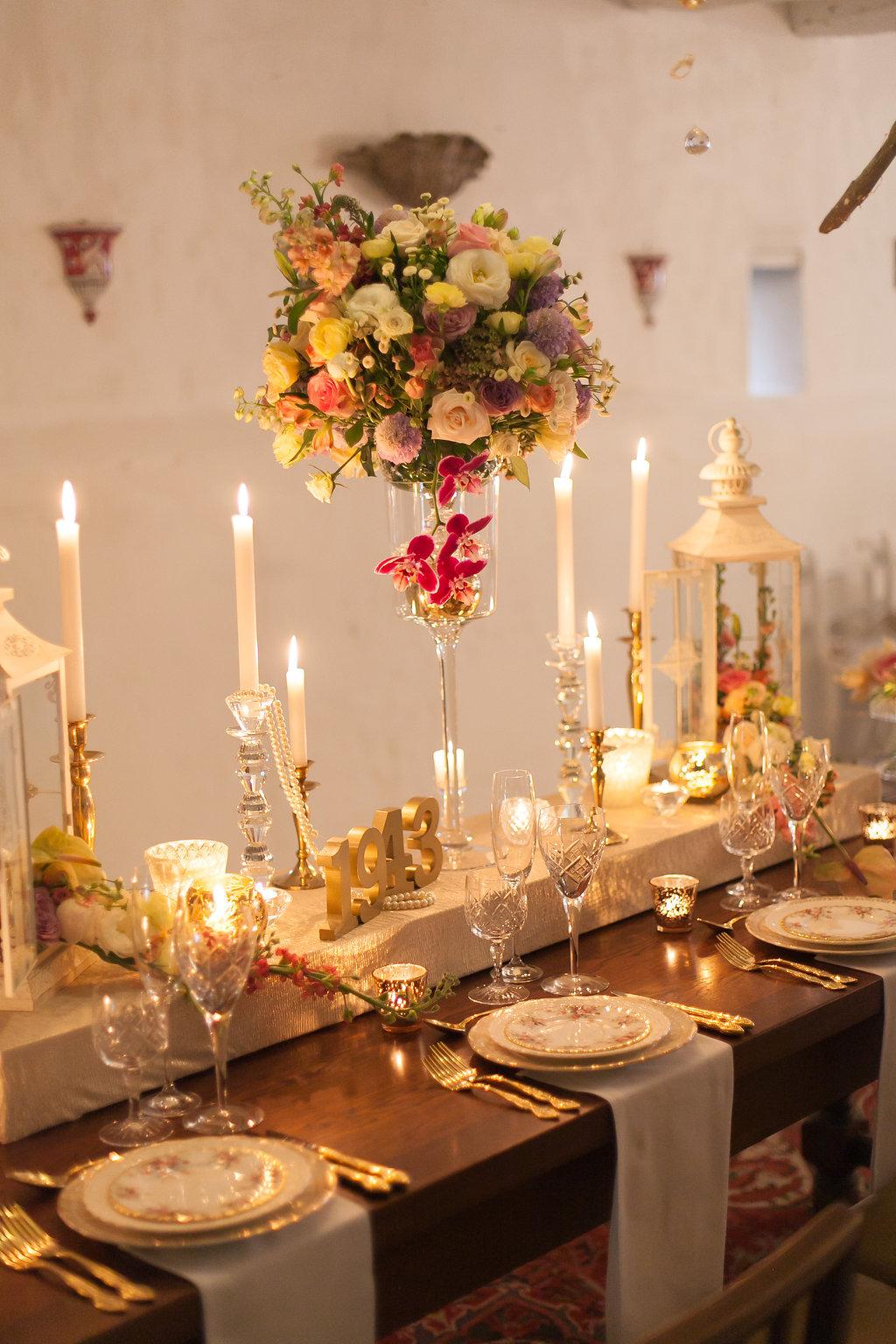 Candlelight Tablescape | Image: Nelani Van Zyl