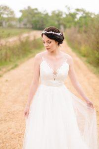 Cindy Bam Illusion Lace Wedding Dress | Image: Nelani Van Zyl