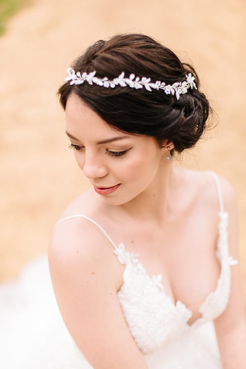 Leaf Bridal Headpiece | Image: Nelani Van Zyl