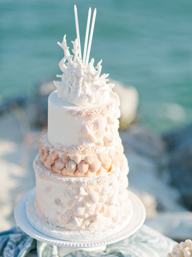 elegant beach themed wedding cakes 20 wedding cakes southbound 13956