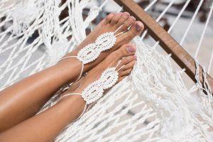 Barefoot Sandals for Beach & Boho Brides