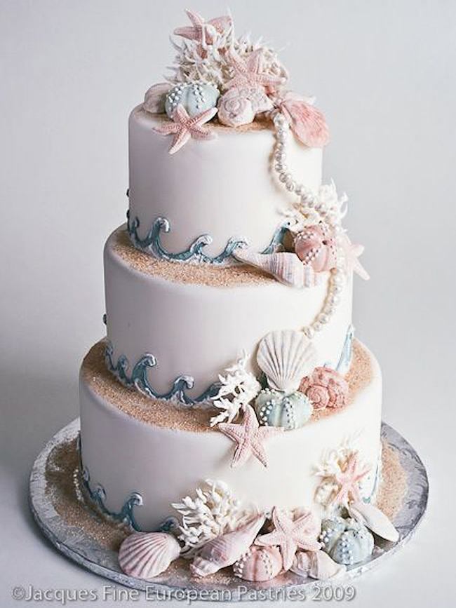 20 Elegant Beach Wedding Cakes SouthBound Bride