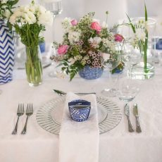 Country Wedding with a Touch of Delft at Cavalli Estate by Lindy Truter