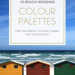 10 Beach Wedding Colour Palettes