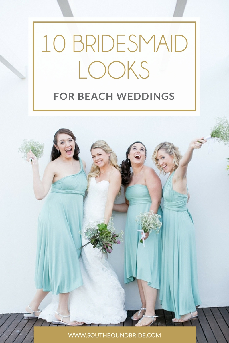 Bridesmaid boutique southbound bride when it comes to beach weddings there are so many gorgeous options for a bride to be but what about her best girls as you know we love a bit of ombrellifo Gallery