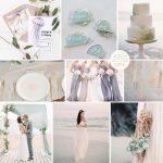 Inspiration Board: Seaglass & Foam