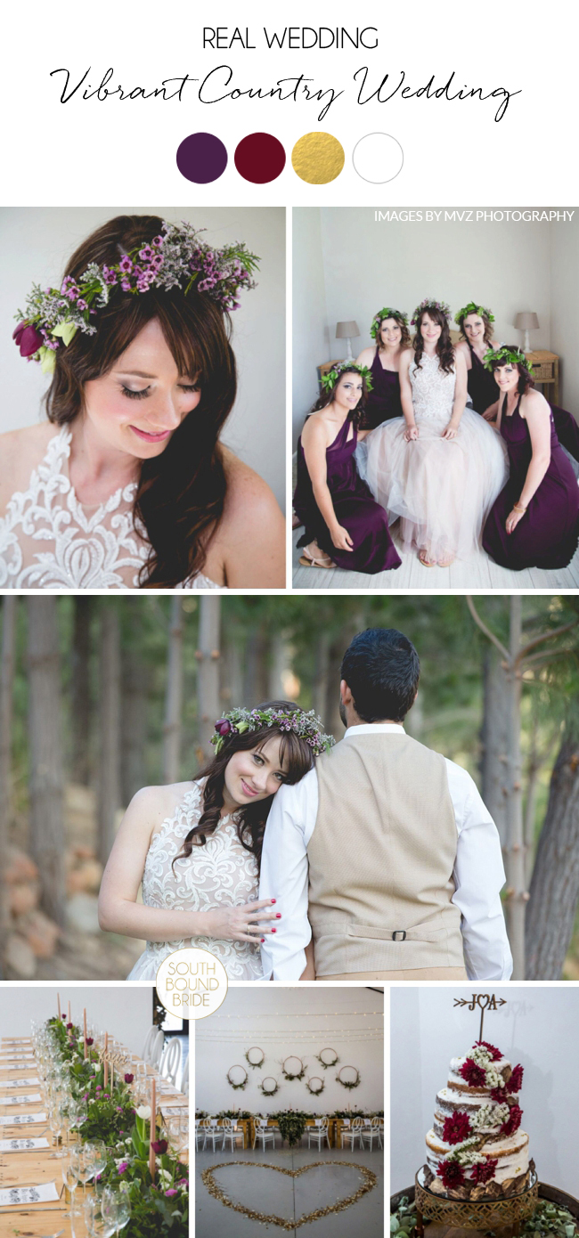 Vibrant Country Wedding by MVZ Photography | SouthBound Bride