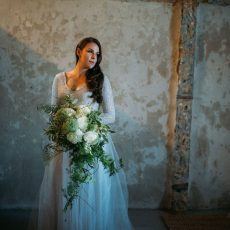 Moody Winter Forest Themed Wedding at Leipzig Country House by Moira West