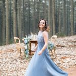 Rustic Forest Elegance Styled Engagement