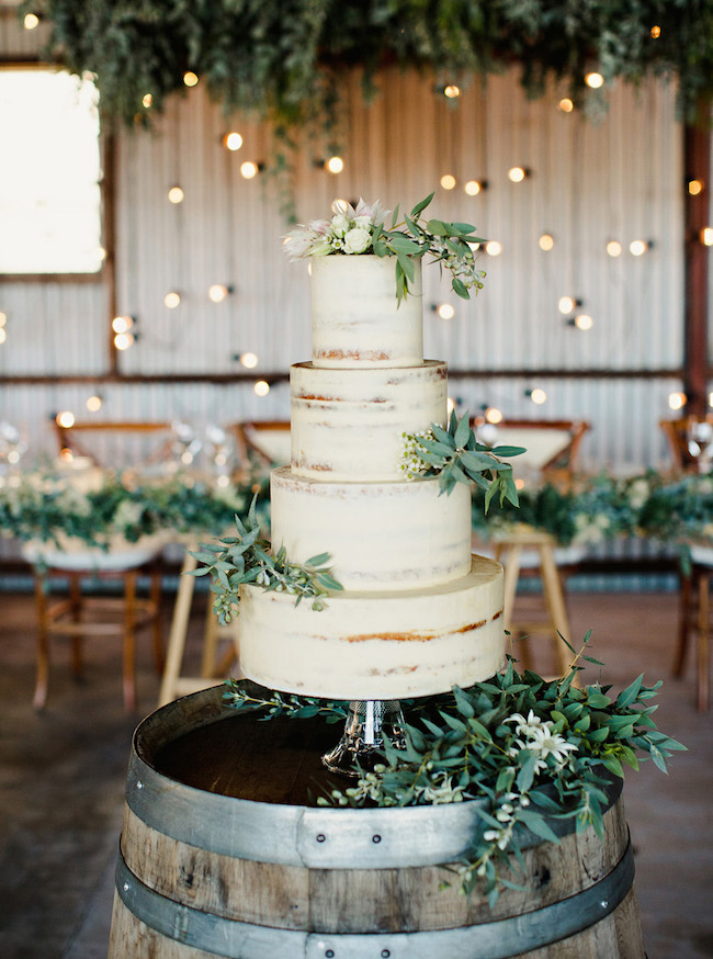 20 Stunning Semi Naked Wedding Cakes Southbound Bride