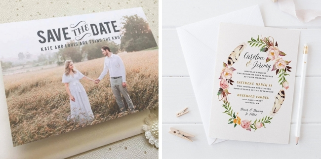 graphic regarding Printable Rustic Wedding Invitations named Printable Rustic Marriage ceremony Invites versus Etsy SouthBound