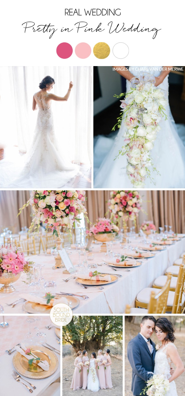 Pretty in Pink Wedding by Charl van der Merwe | SouthBound Bride