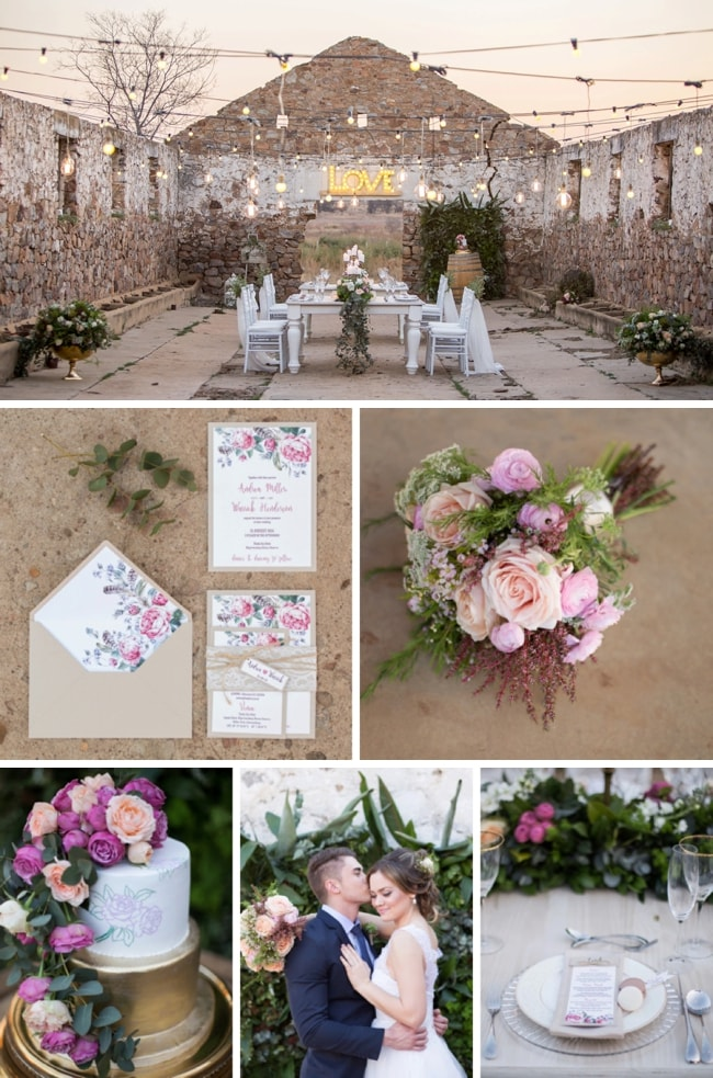 Rustic Splendour Wedding Inspiration by Lilly & Lace and NadiaM | SouthBound Bride