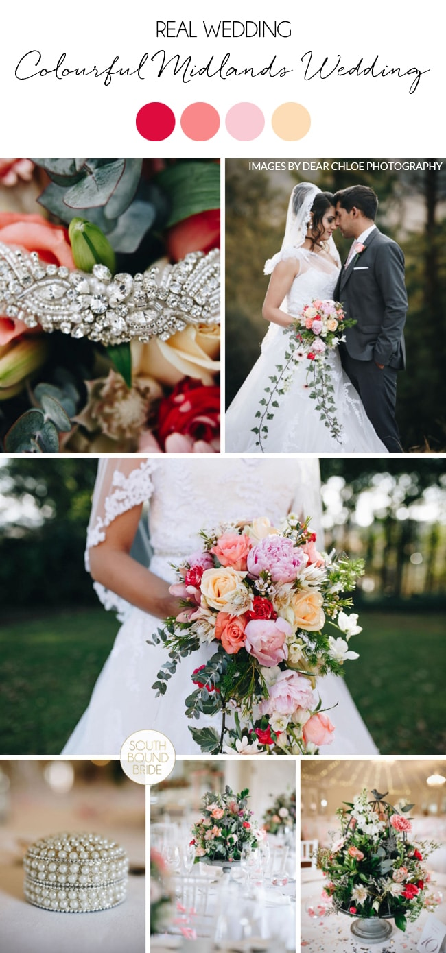 Colourful Midlands Wedding by Dear Chloe Photography | SouthBound Bride
