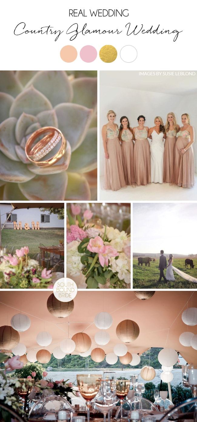 Country Glamour Wedding at The Oaks by Susie Leblond | SouthBound Bride