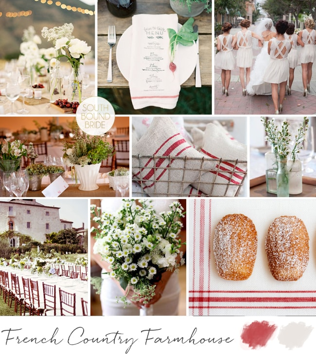 French Country Farmhouse Inspiration Board