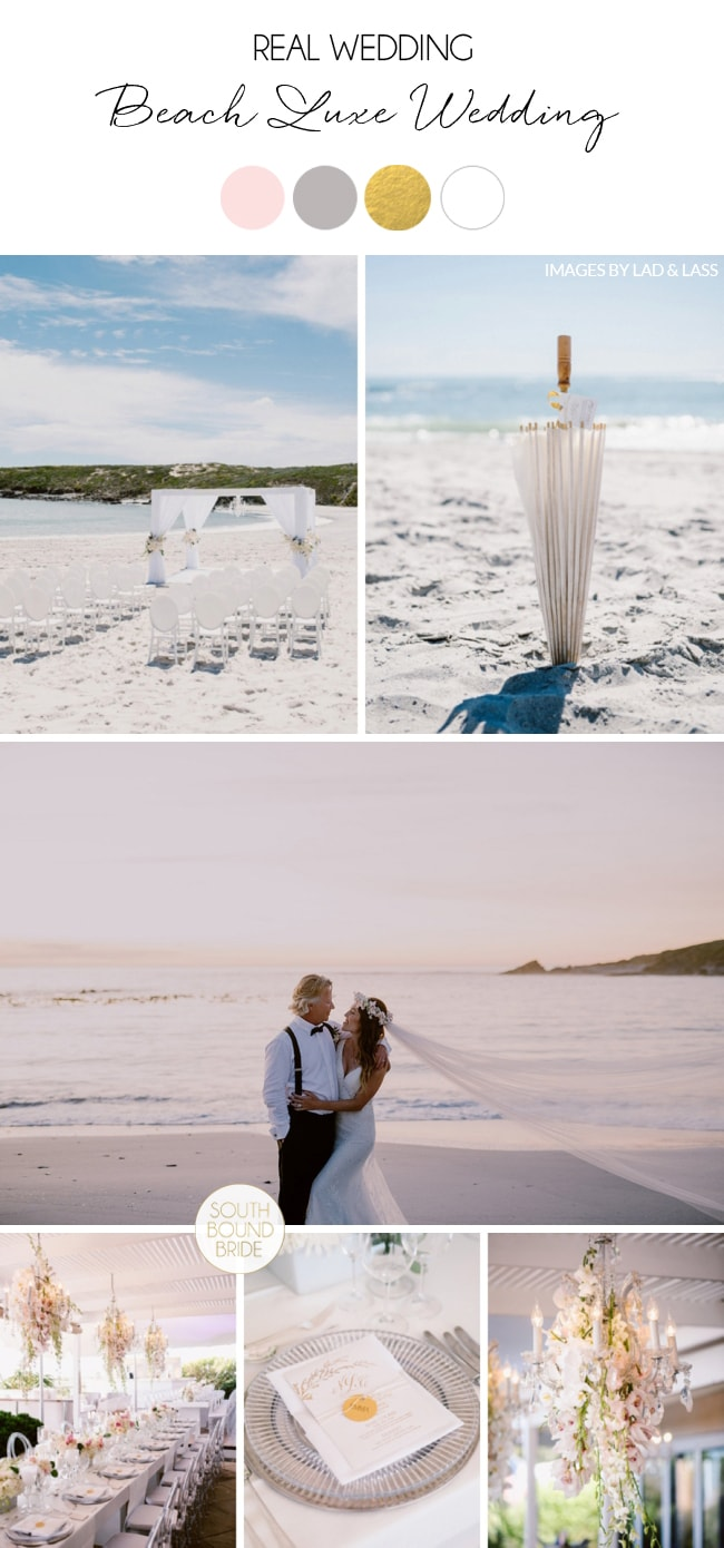 Beach Luxe Wedding by Lad and Lass & Wedding Concepts | SouthBound Bride