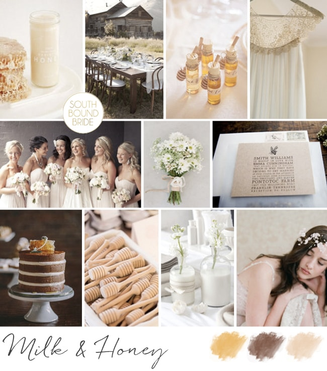 Inspiration Board: Milk & Honey