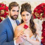 Beauty & the Beast Modern Luxe Wedding Inspiration